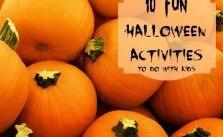 10 Fun Halloween Activities
