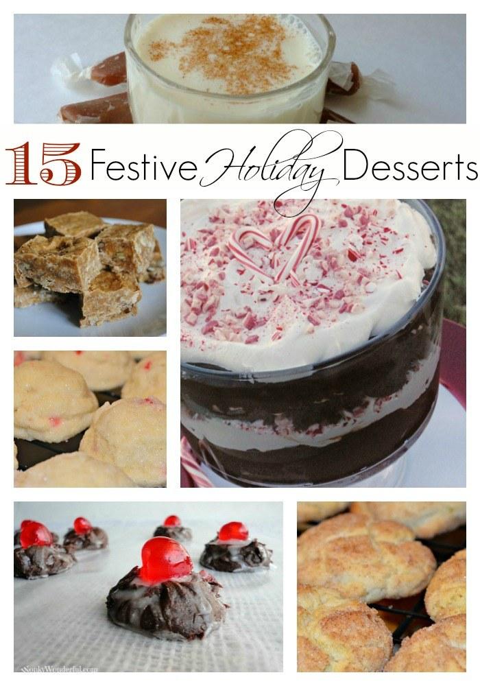 15 festive holiday dessert recipes