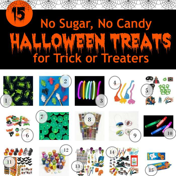 15 No Sugar No Candy Halloween Treats for Trick or Treaters