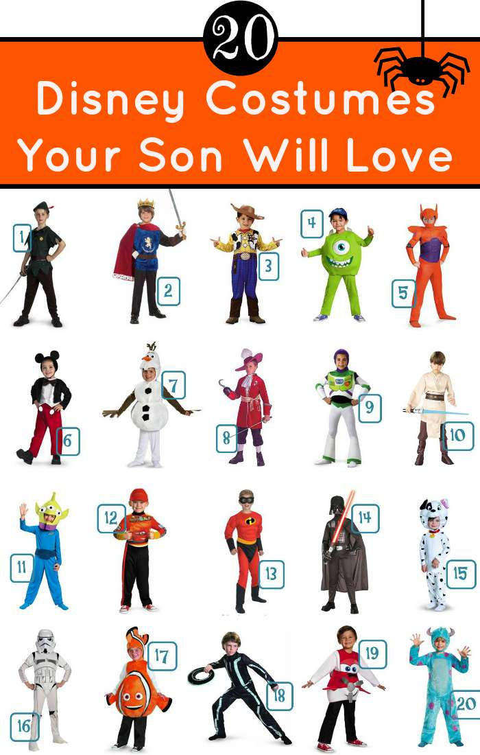 20 Disney Costumes Your Son Will Love