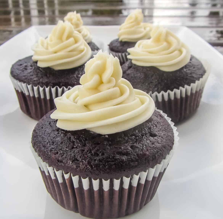 Never Fail Chocolate Cupcakes