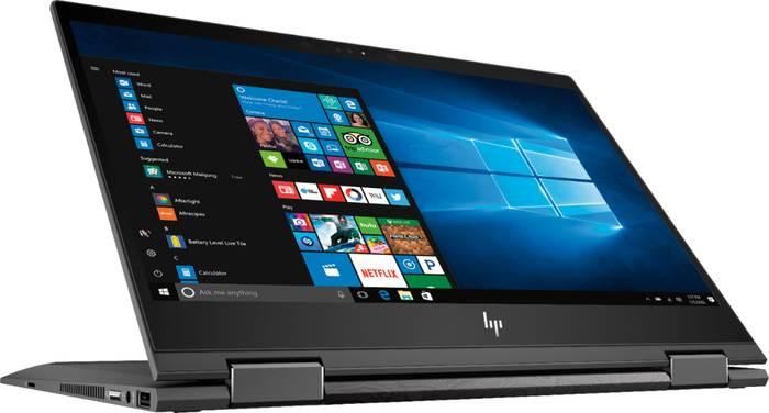 HP Envy x360 Laptops flipped