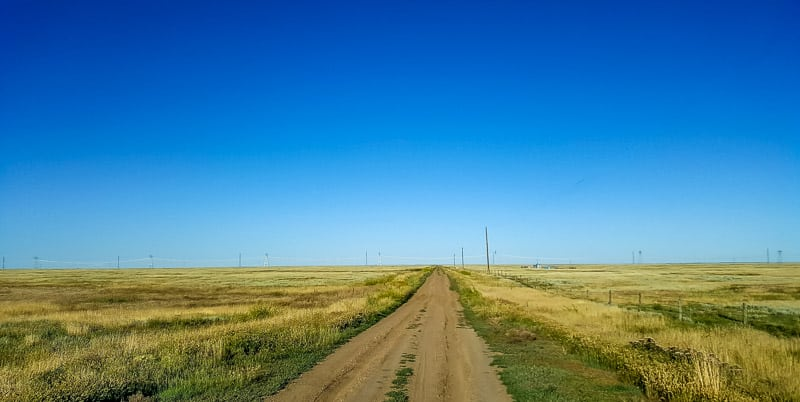 Road trip through Saskatchewan