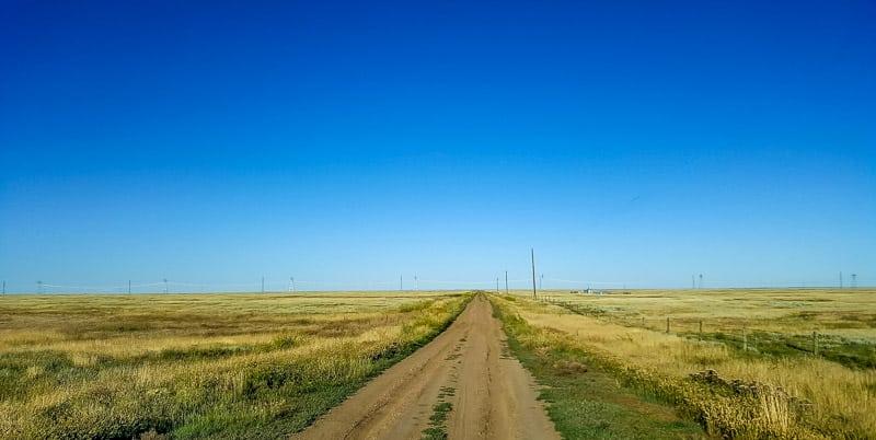 Road trip through Saskatchewan