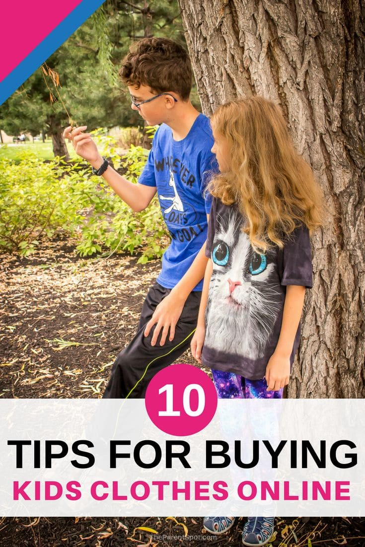Easy tips for buying kids clothes that save money and time