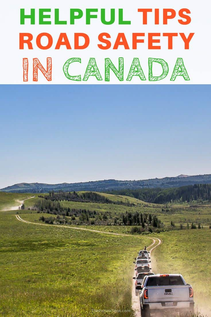 helpful tips for road safety in Canada #canada #roadtrip #safety