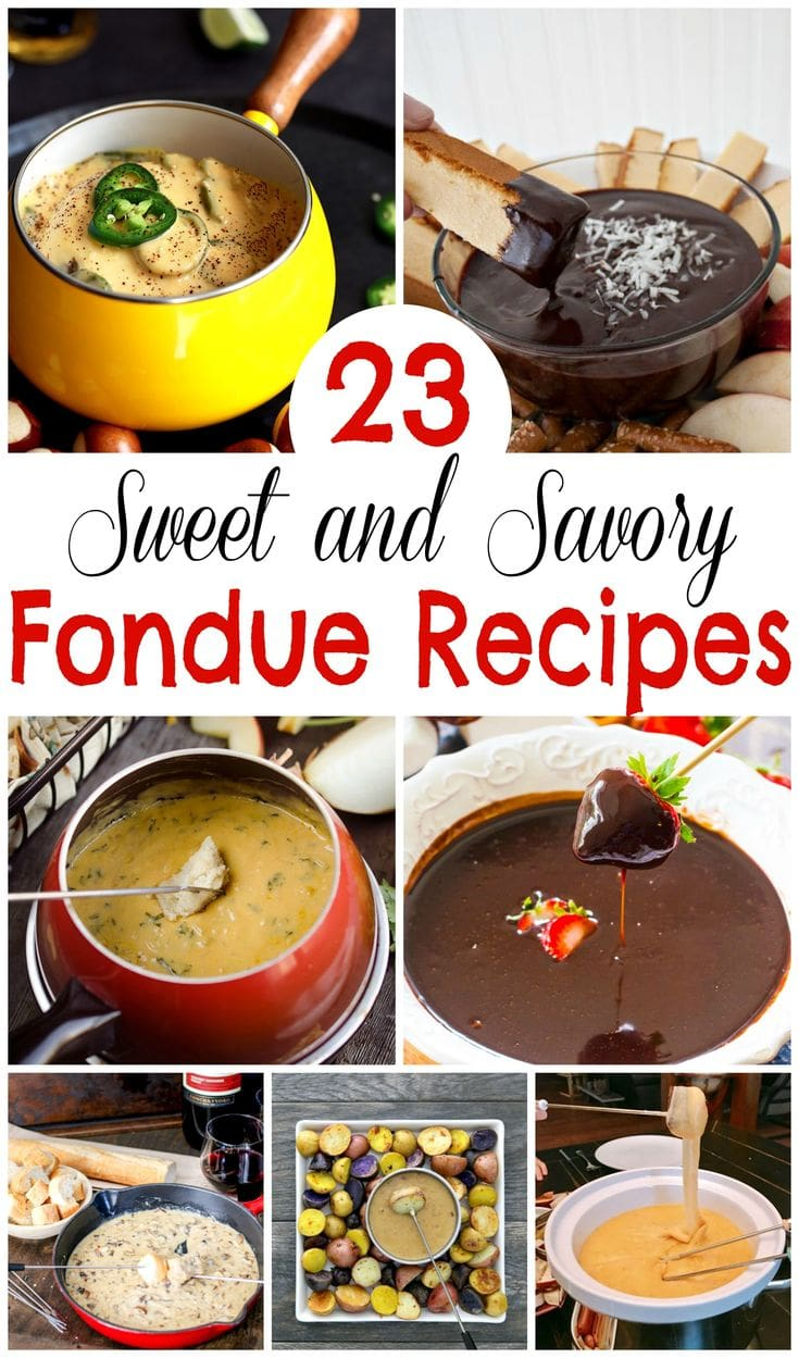 The best fondue recipes for parties, with dessert, cheese and more amazing fondue ideas