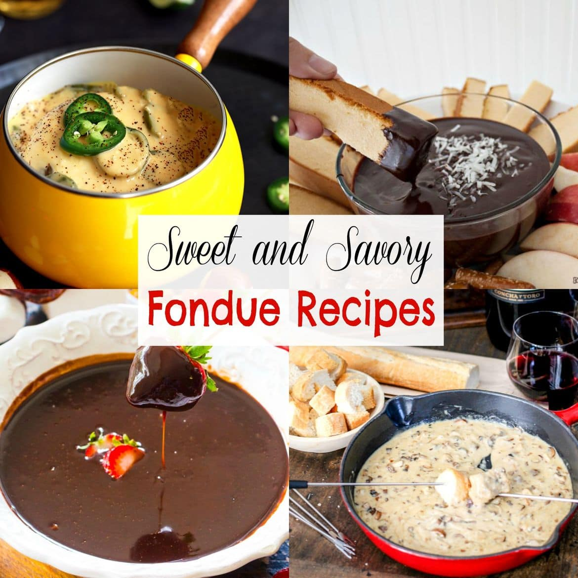 Sweet and Savory Fondue Recipes