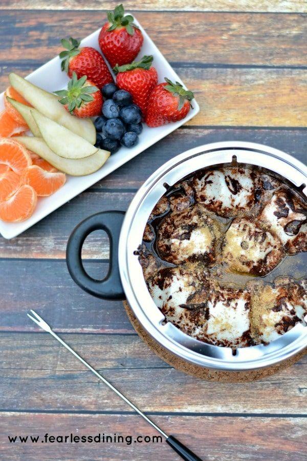 smores fondue