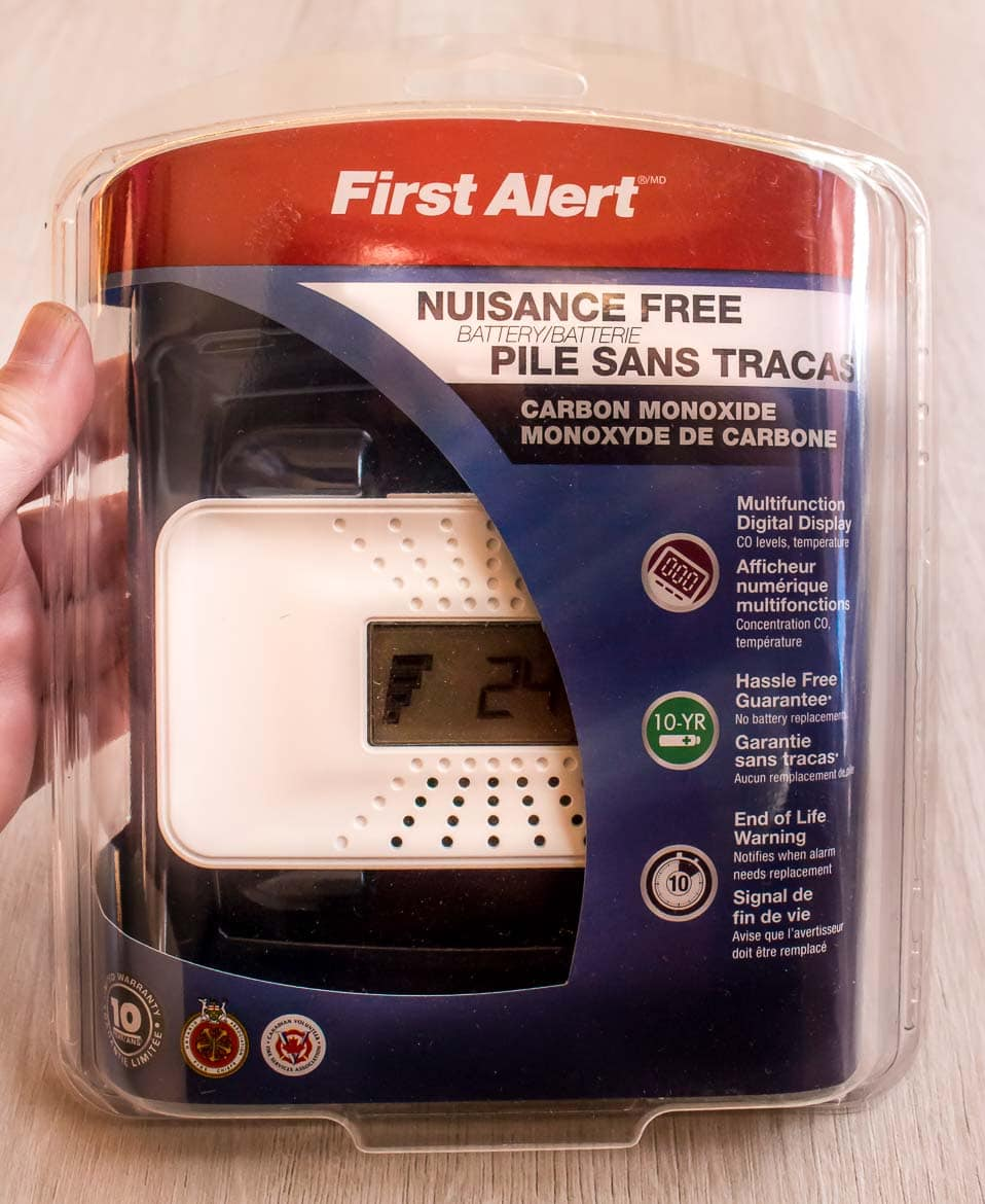 First alert CO alarm