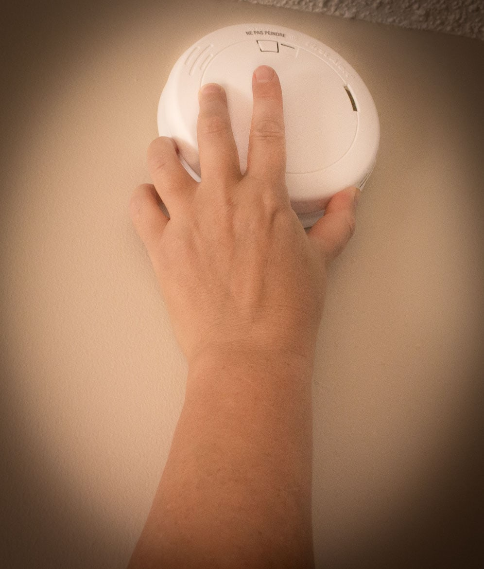 test smoke alarm
