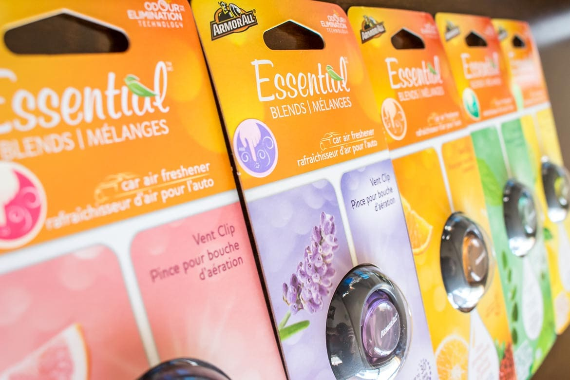 Armor All Essential Blends air fresheners