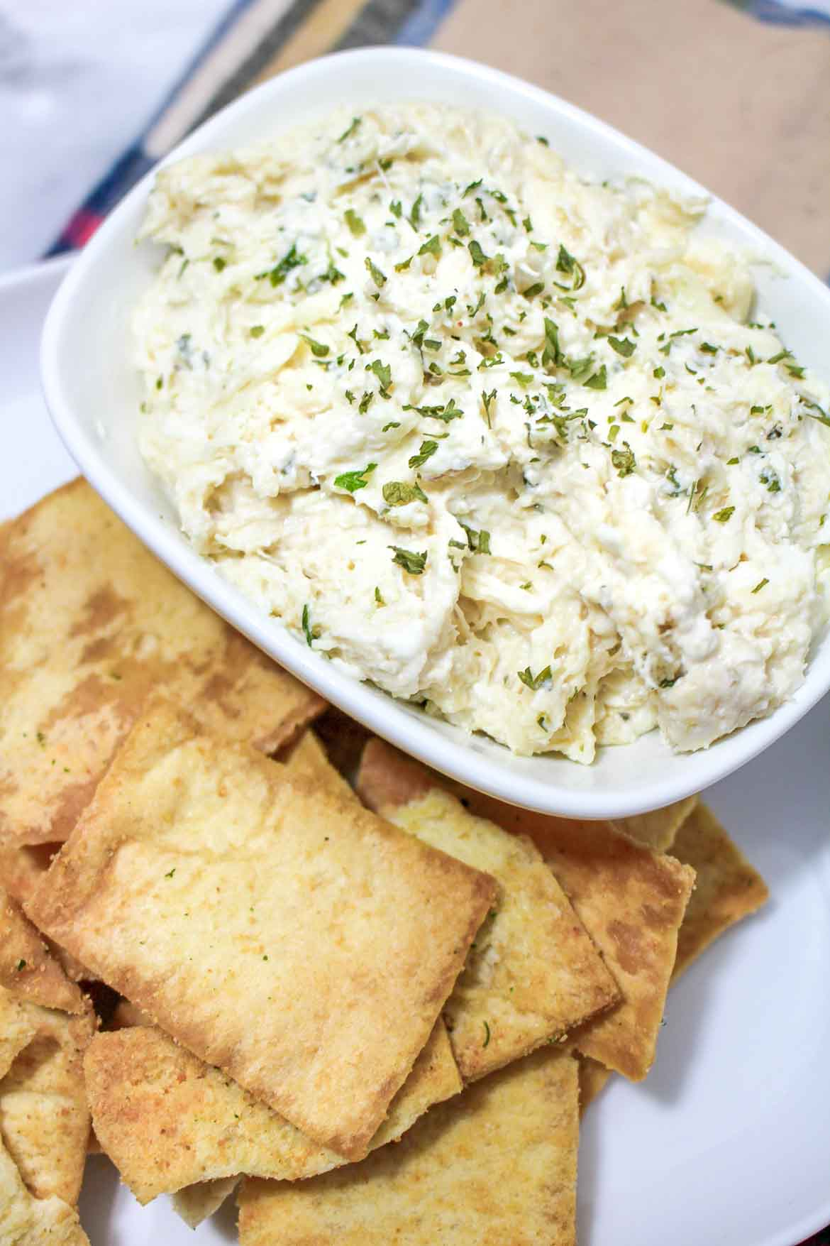 easy baked crab dip with cream cheese