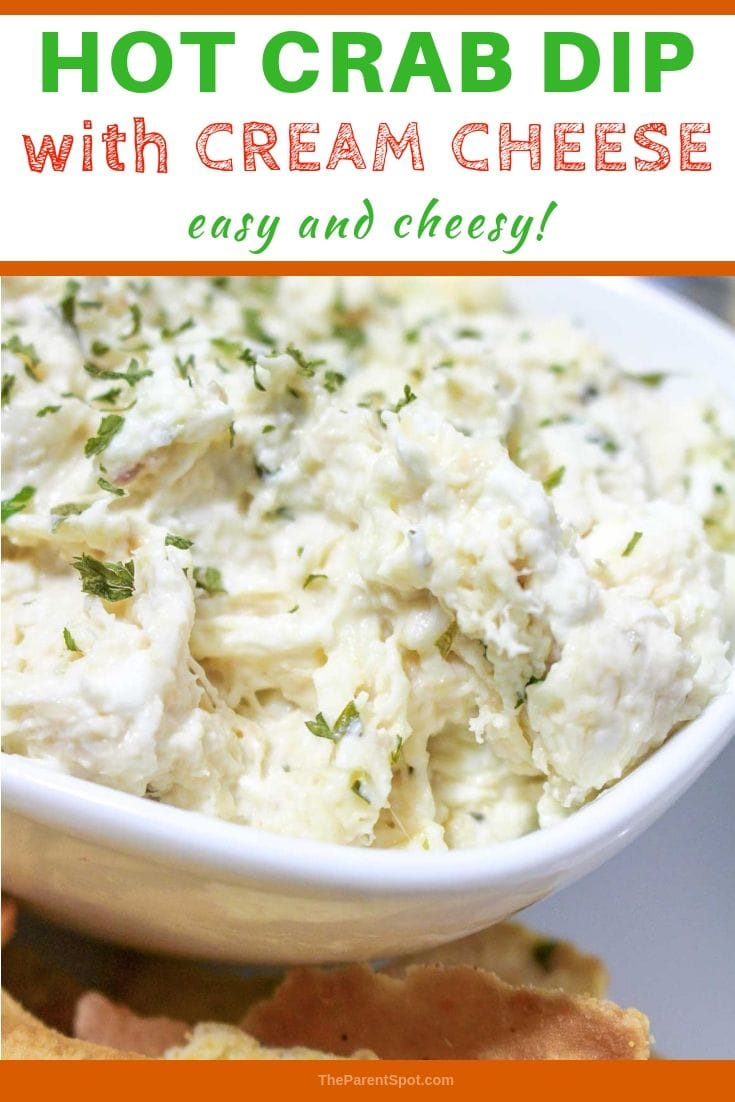 hot crab dip with cream cheese