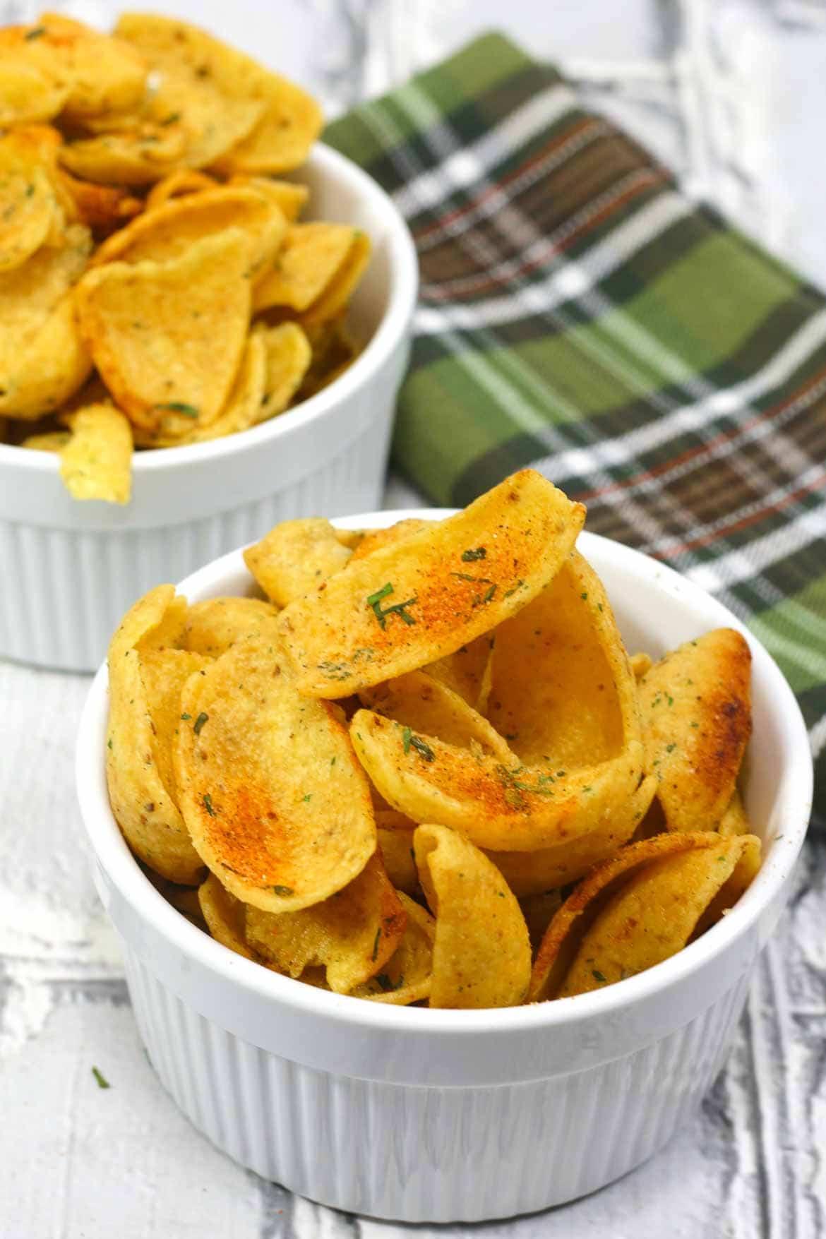 Slow Cooker Cajun Ranch Corn Chips
