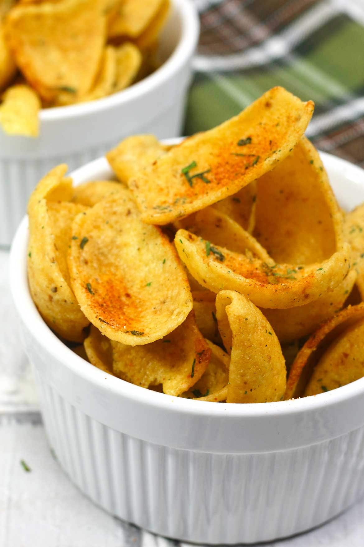 Crock pot corn chips recipe with Cajun Ranch spices