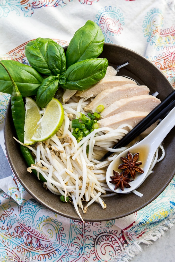 30 minute pho from A Clean Bake