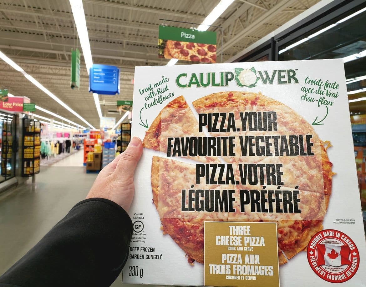 CAULIPOWER Three Cheese Pizza in store at Walmart