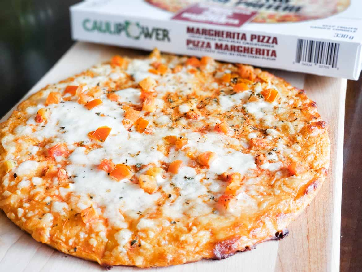 CAULIPOWER review Canada: Margherita Pizza Cauliflower Pizza Crust