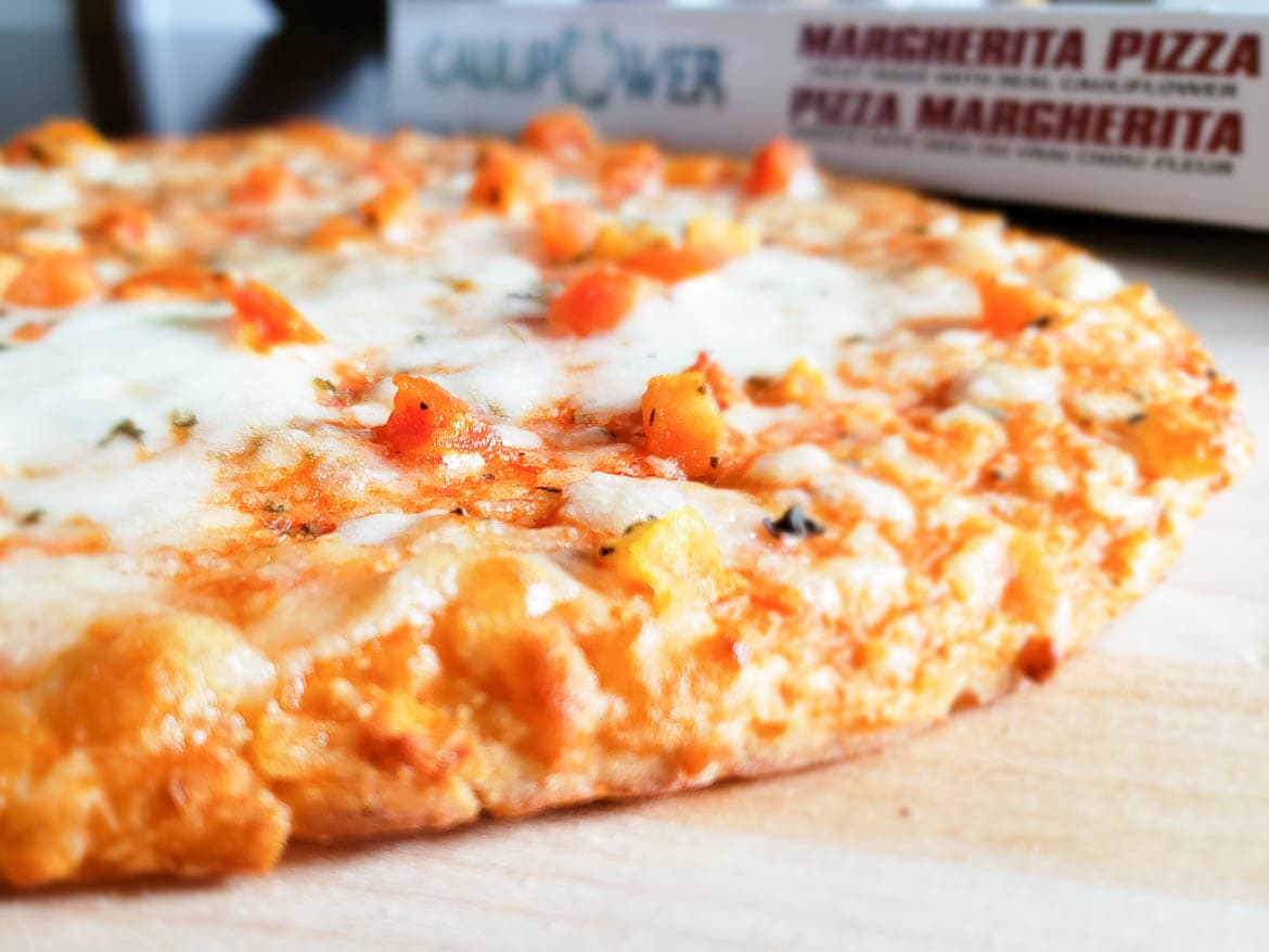 CAULIPOWER Margherita Pizza baked and warm
