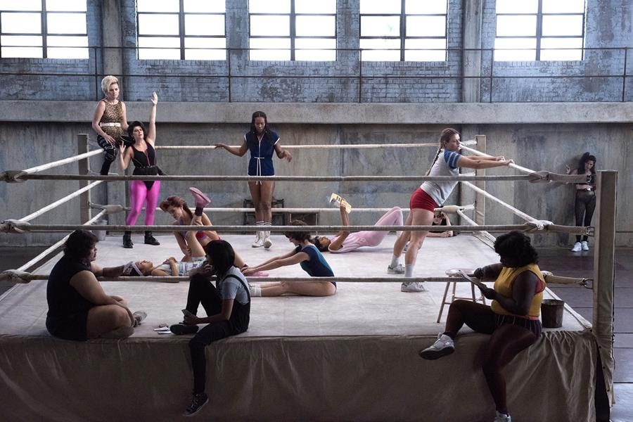 GLOW - one of the best shows to binge on Netflix