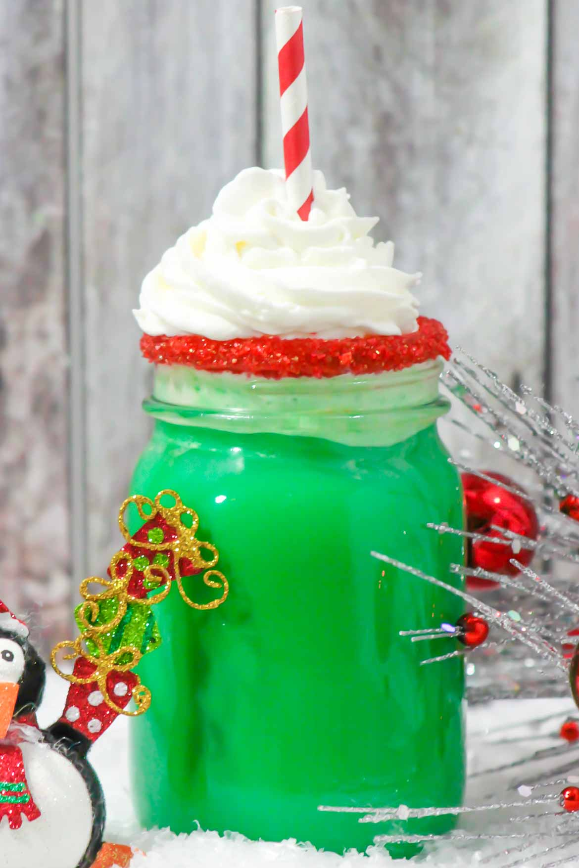Green Grinch drink