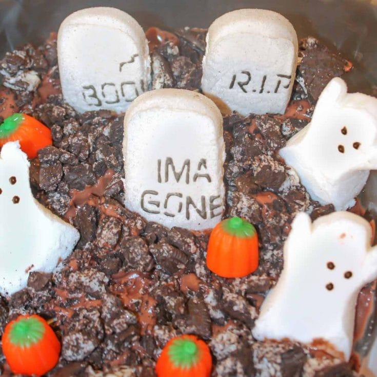 Halloween Graveyard Dirt Cake
