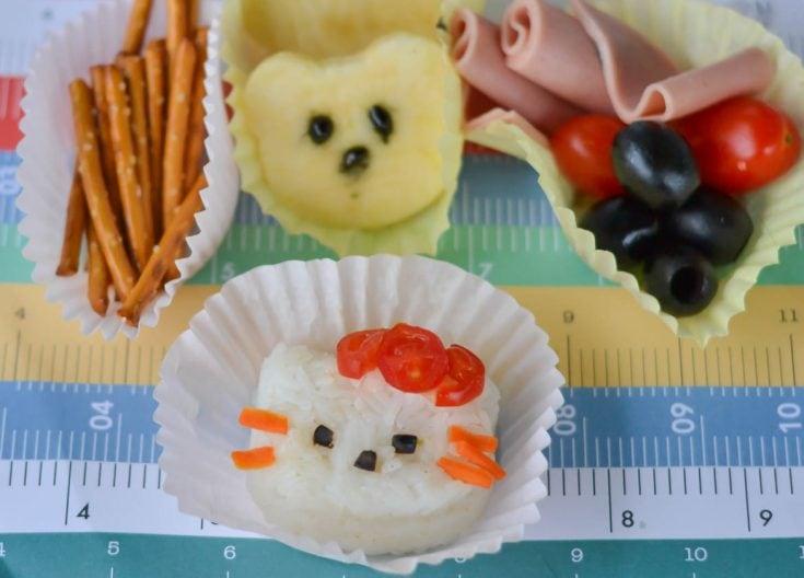 Hello Kitty Bento Lunch Idea