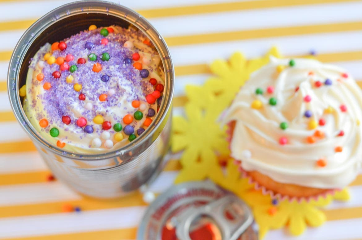 How To Make Cake In A Can birthday cake