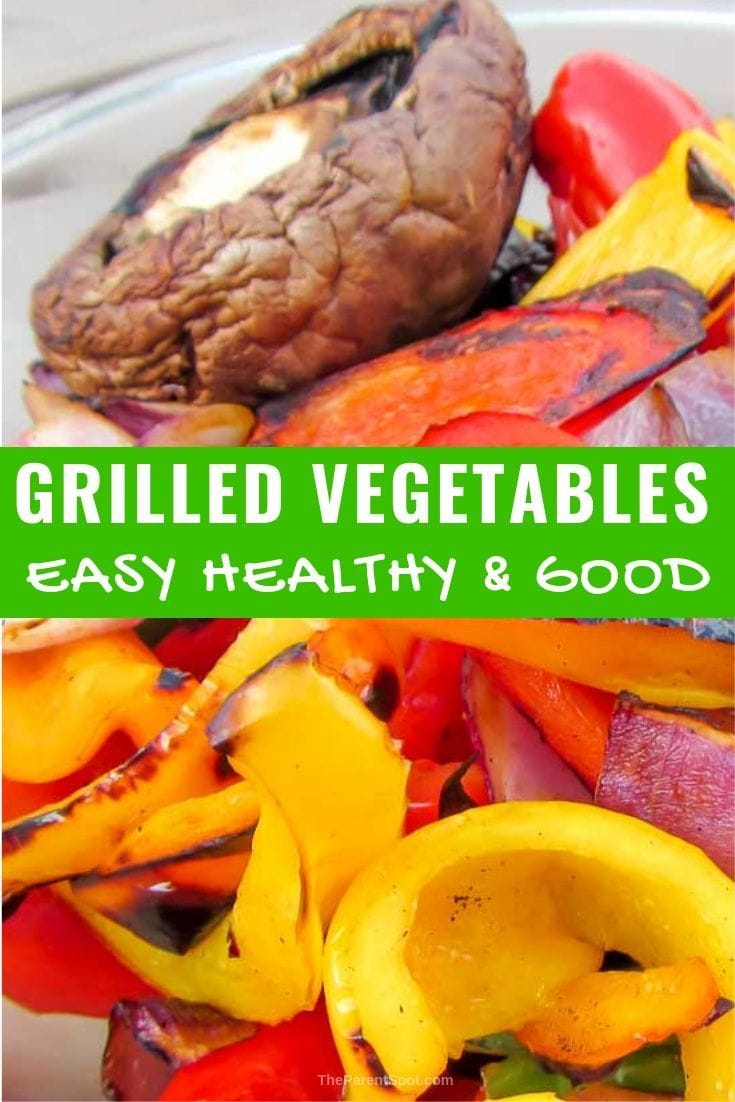 Looking for easy grilled vegetables made in a BBQ basket? These healthy mixed veggies are what you want!