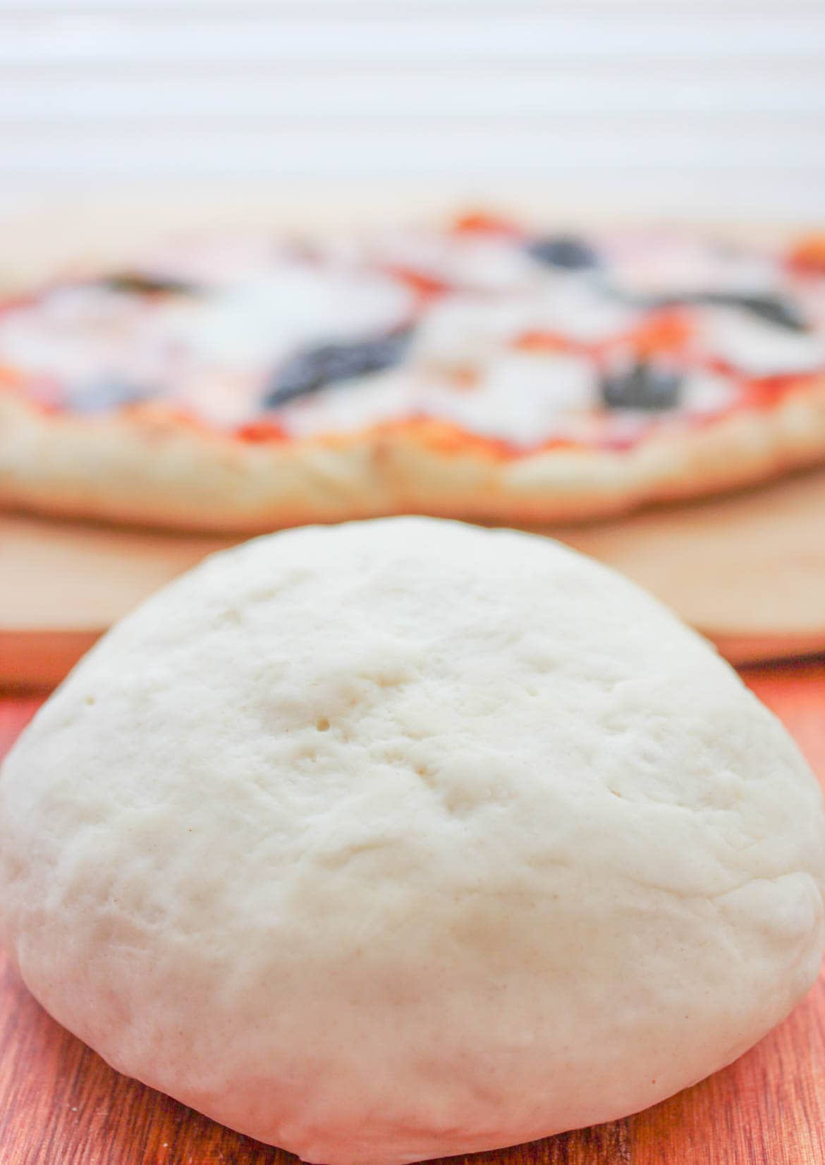 rustic pizza dough home made