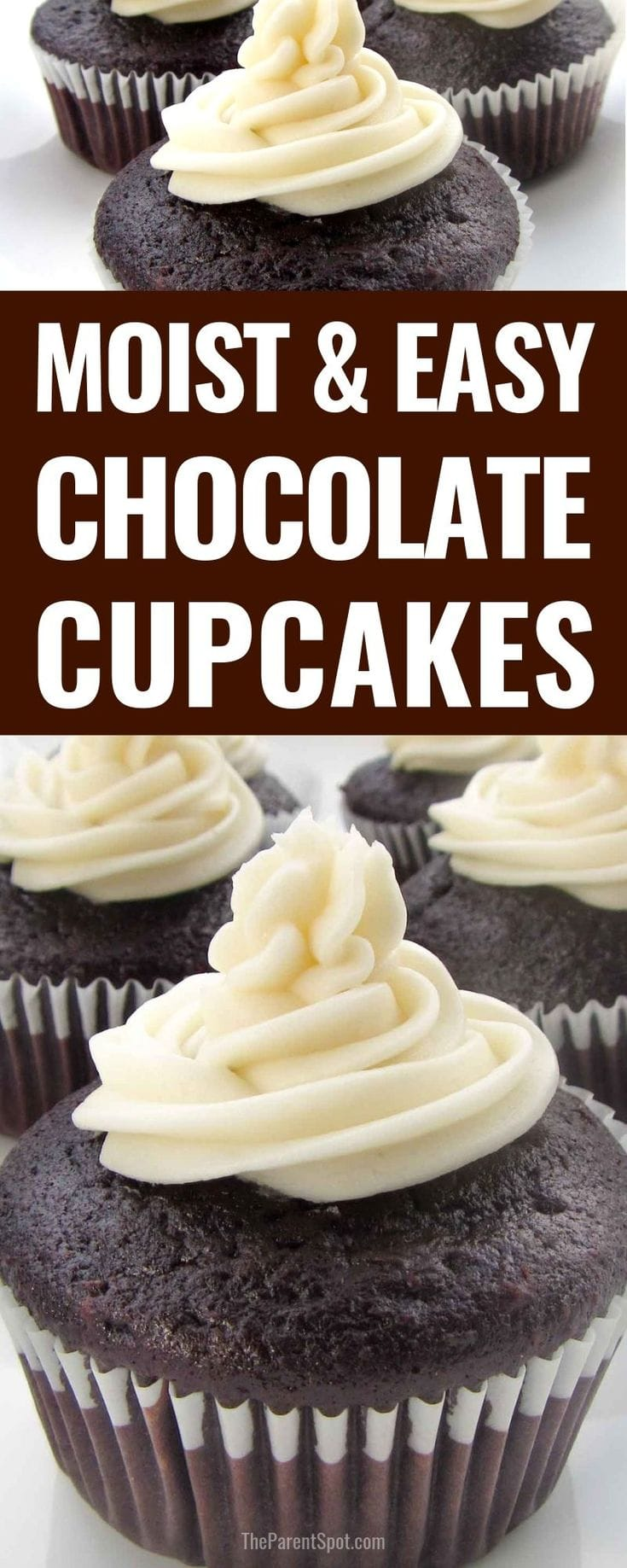 most and easy chocolate cupcakes