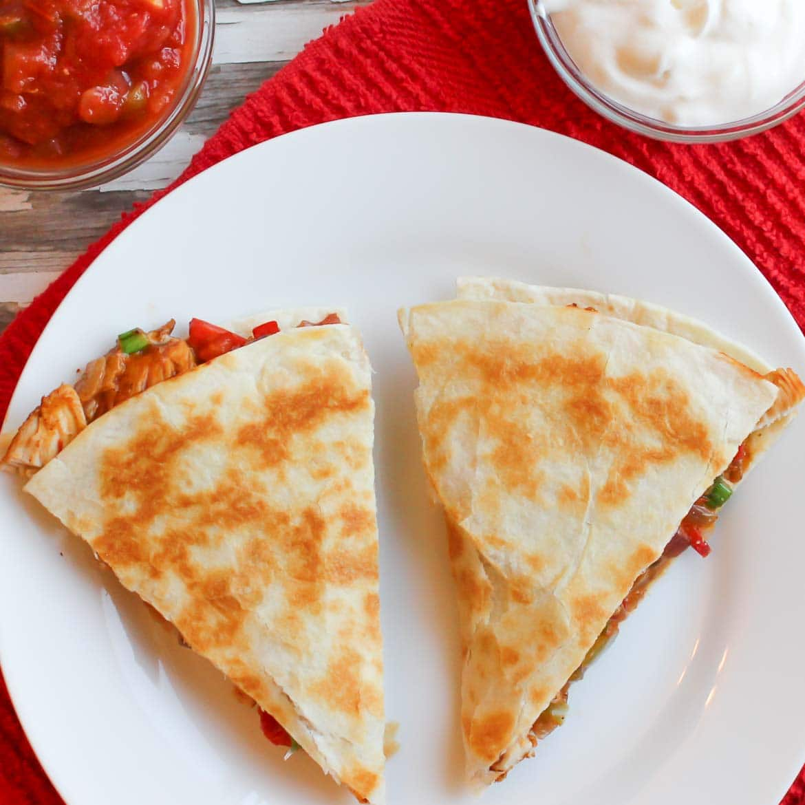 tofu quesadilla with cheese