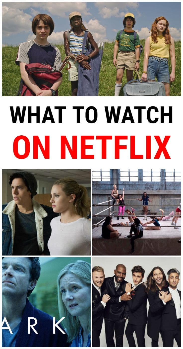 Wondering what to watch on Netflix? There are so many great shows to watch right now. Here's a list of the best TV series that you'll want to binge right away.