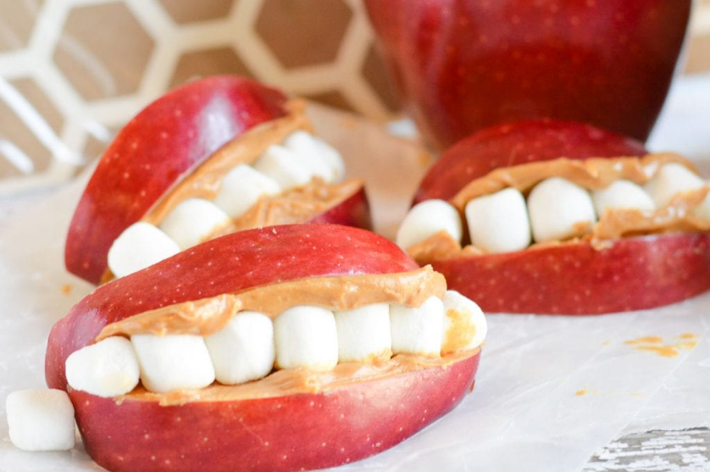 apple smile snack