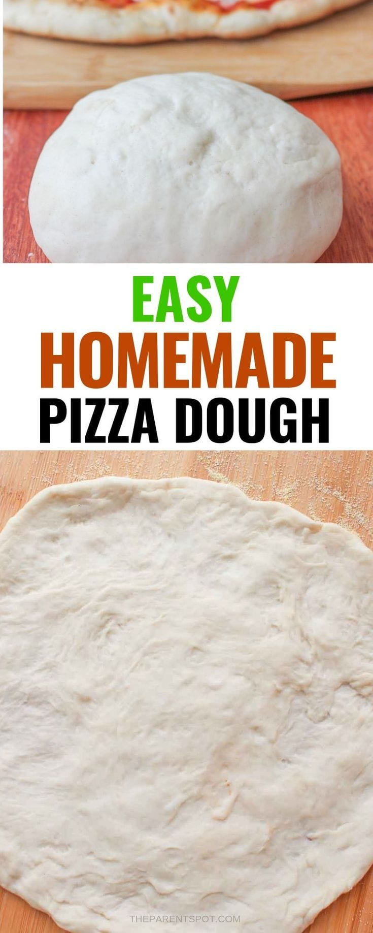 easy home made pizza dough