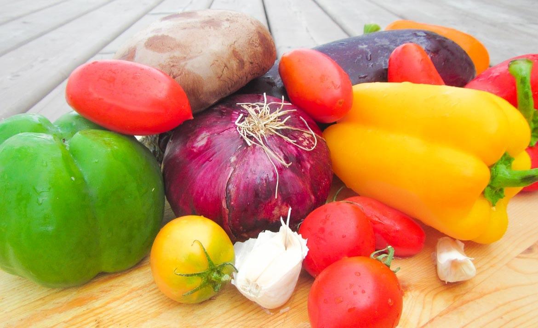 vegetables for grilling