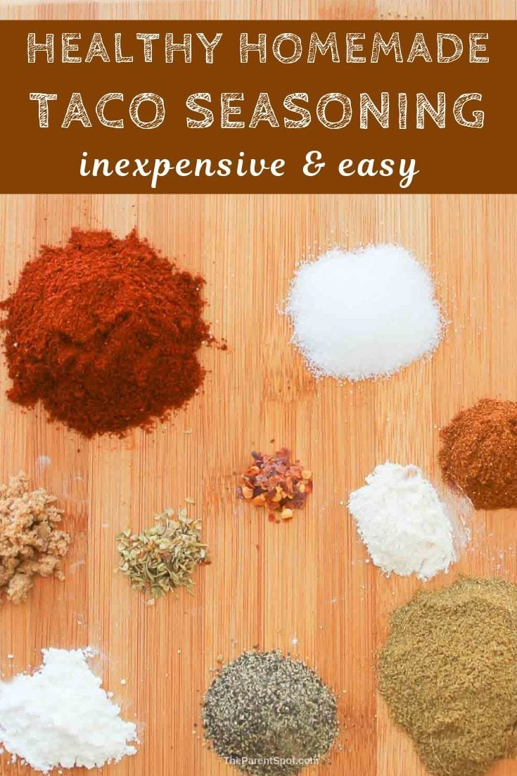 homemade healthy taco seasoning