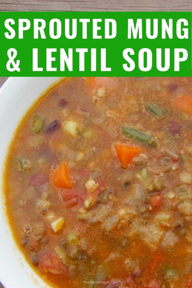 mung bean soup with lentils a simple comfort food you will love