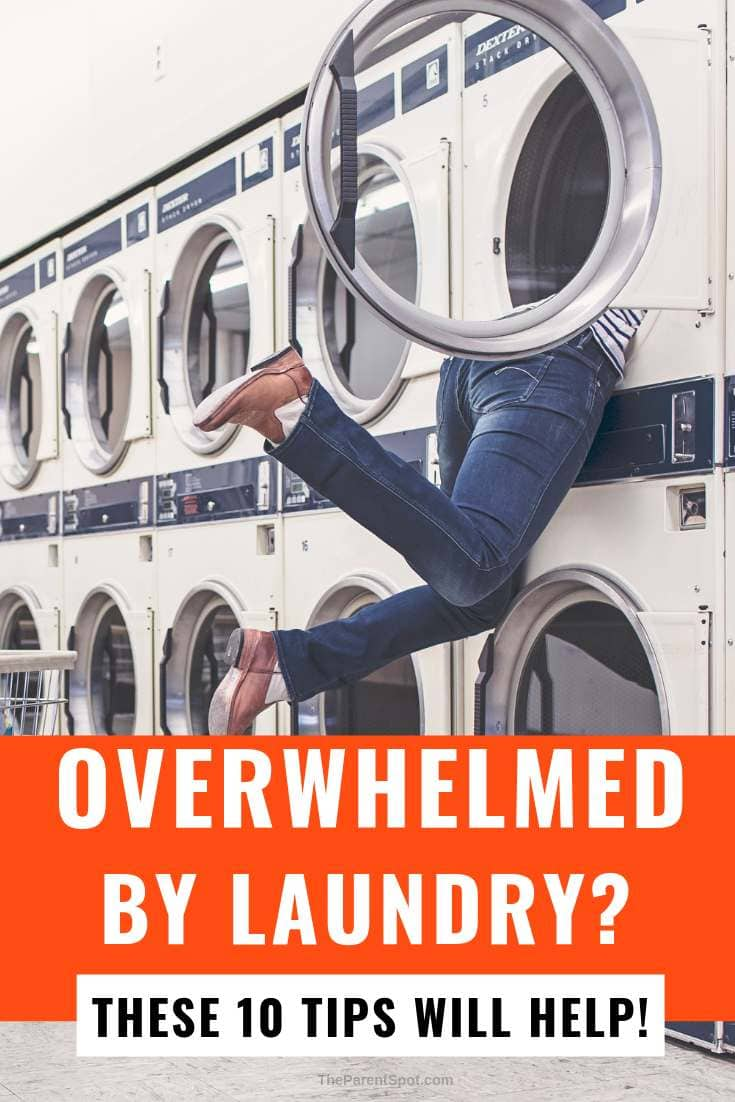 Overwhelmed by laundry - 10 proven tips to help you organize and manage laundry
