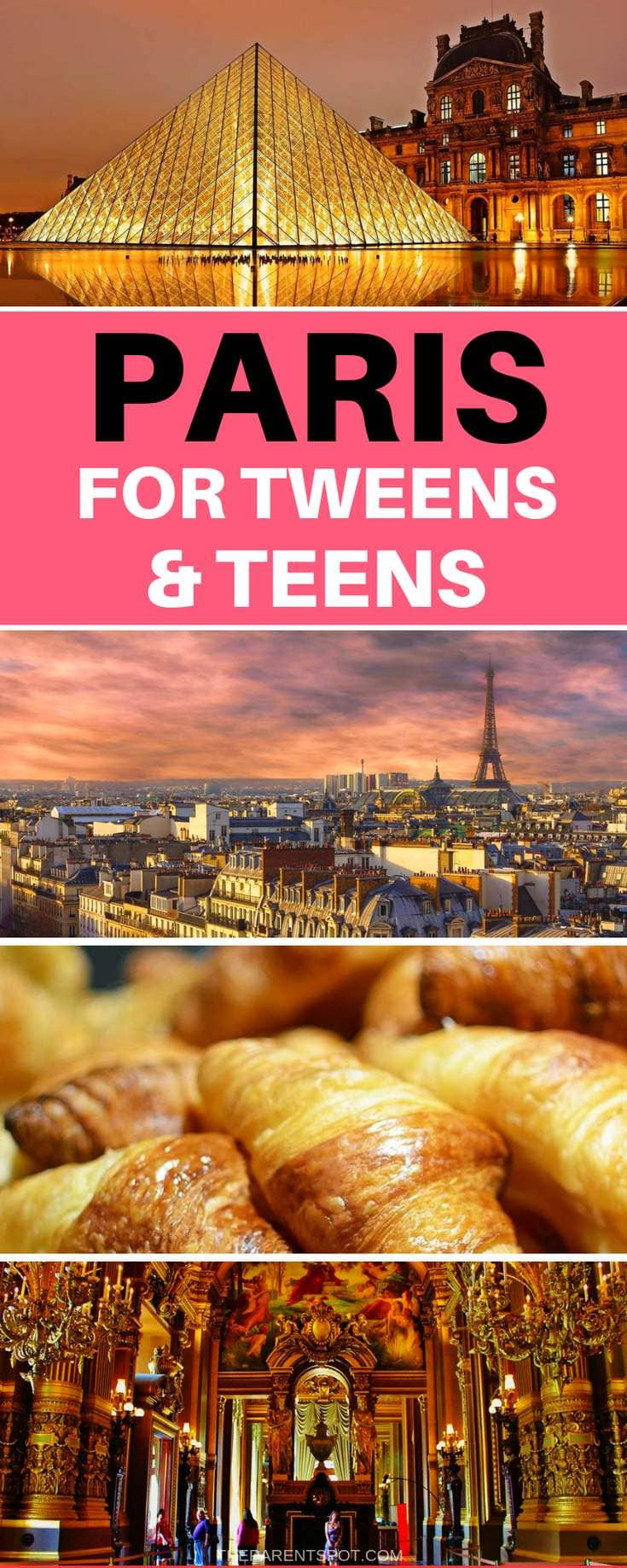 things to do in Paris with teens and tweens