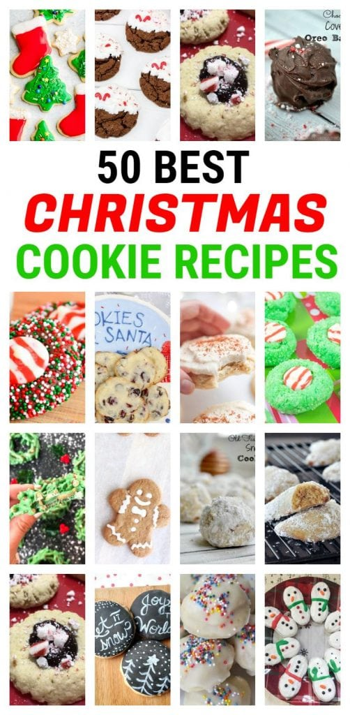 The 50 best Christmas cookie recipes!