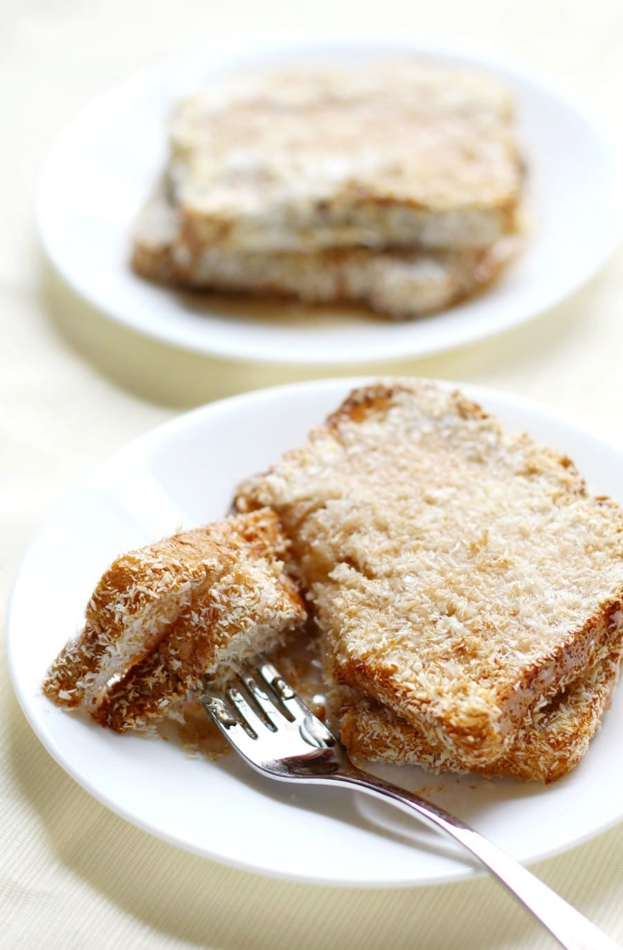 Air Fryer Toasted Coconut French Toast (Gluten-Free, Vegan)
