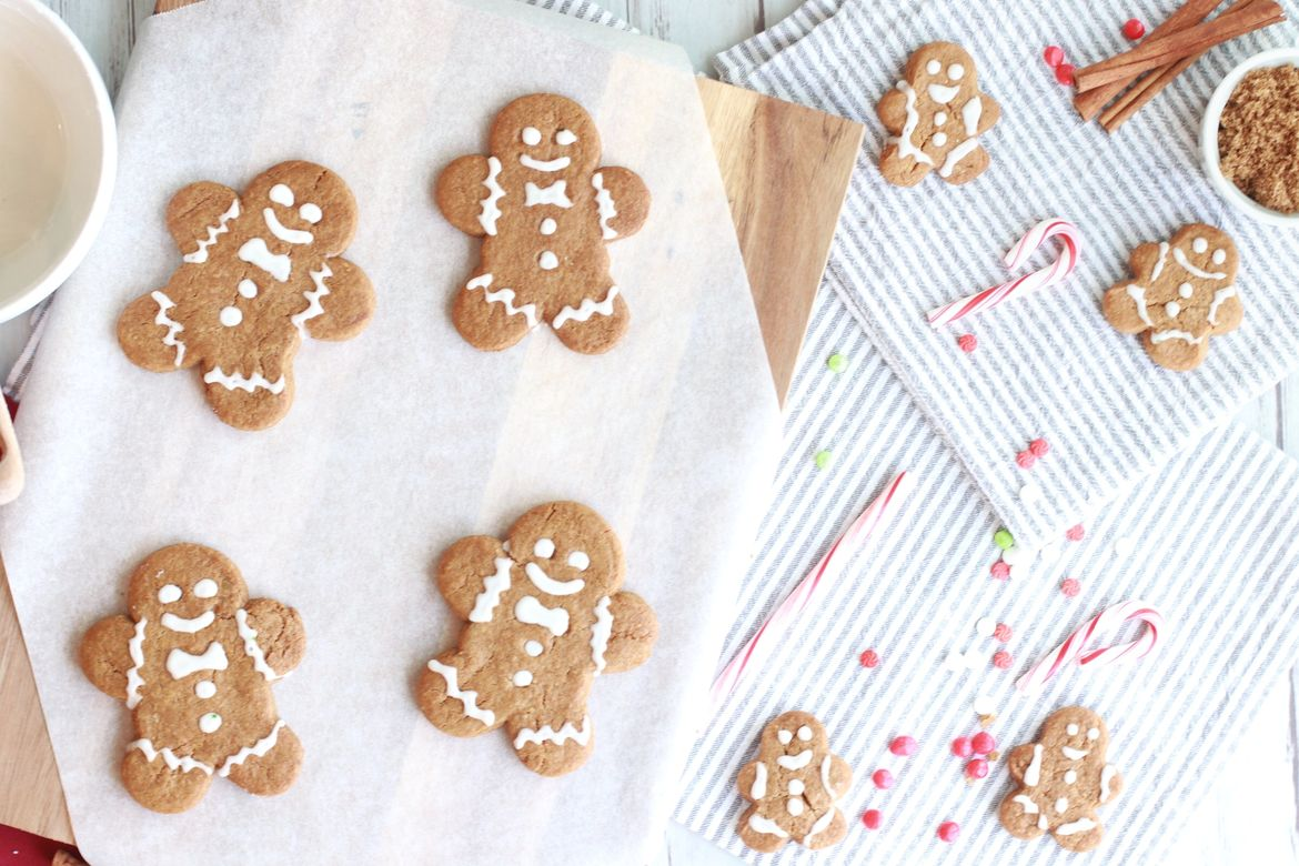 Soft and Chewy Gingerbread Cookies by the Carefree Mermaid.