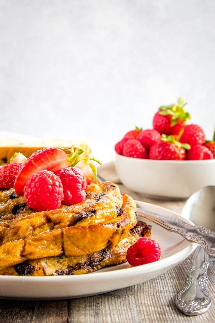French Toast recipe Easy brioche french toast with berries