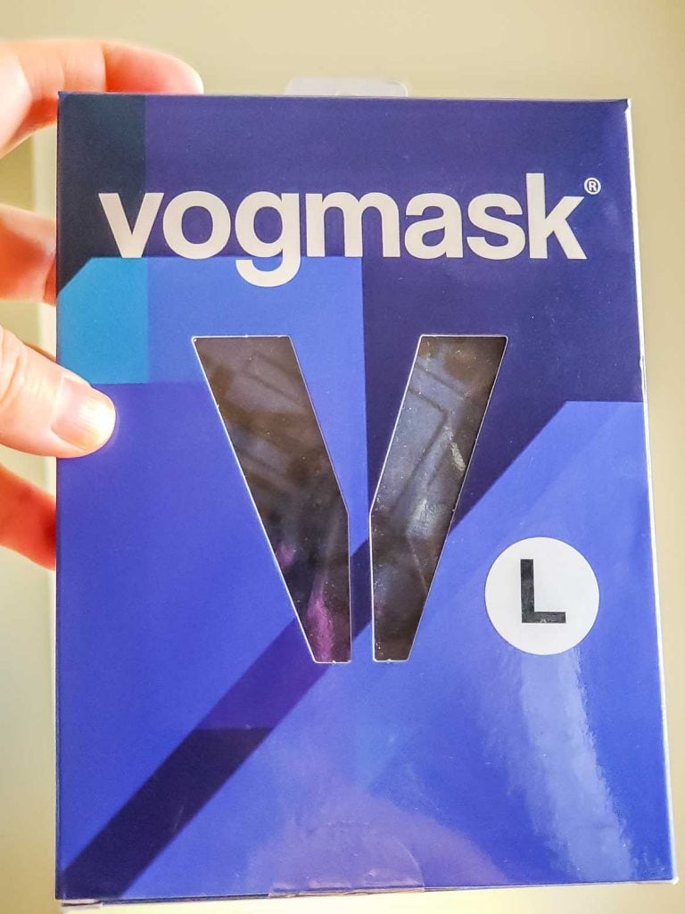 Vogmask Large in package