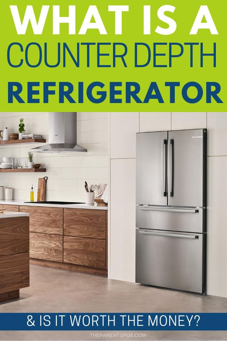 Wondering about the difference between a counter depth refrigerator vs regular