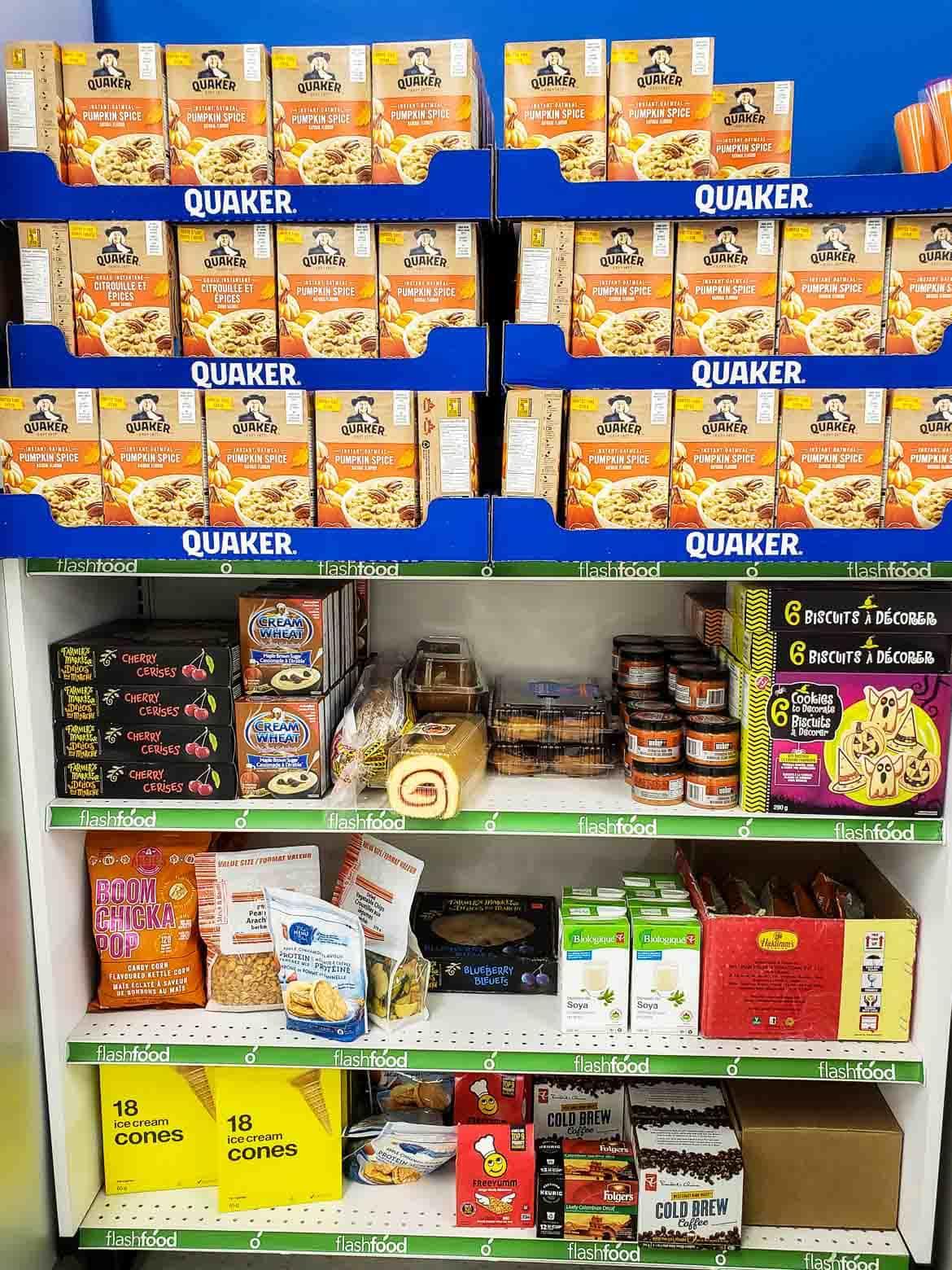 Flashfood dry goods pantry
