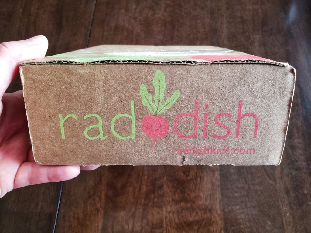 Raddish Kids Review unboxing