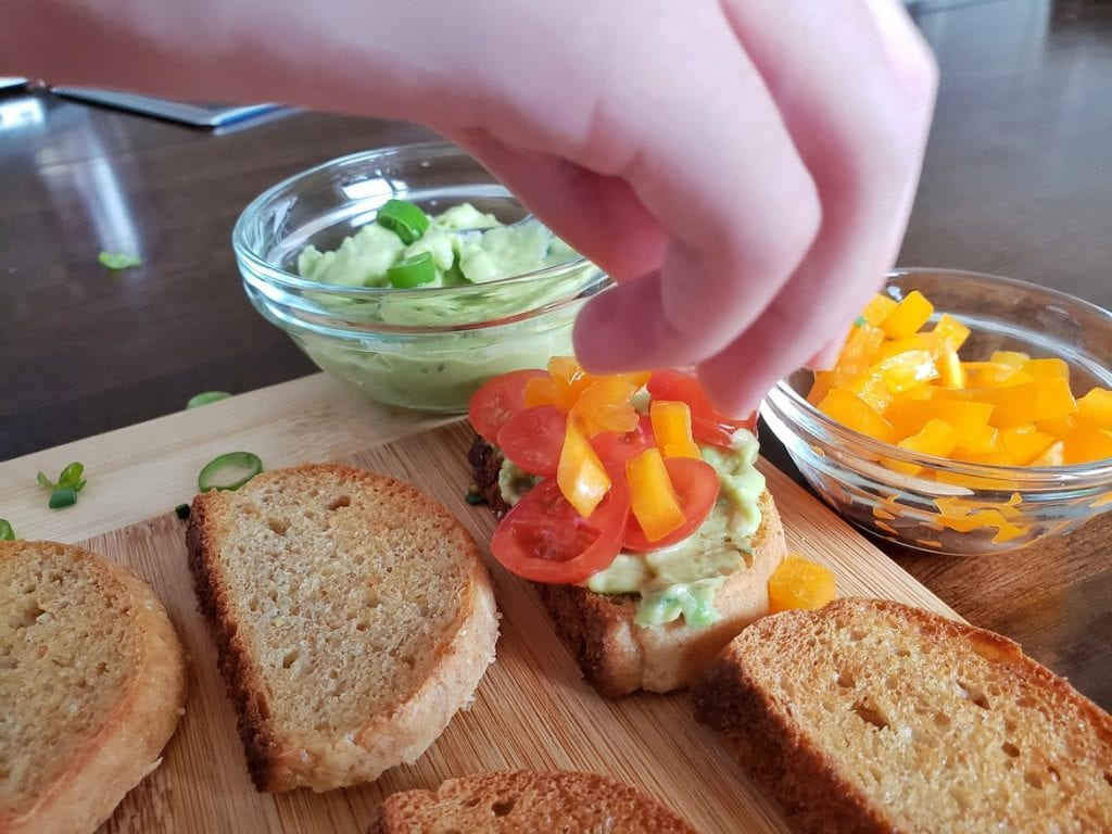 Spring toast recipe Raddish Kids